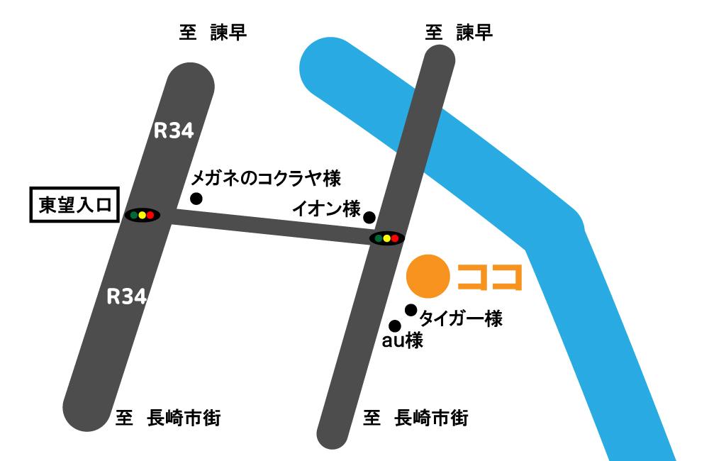 ジョイフル(矢上店) 地図