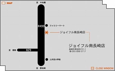 ジョイフル(南長崎店) 地図