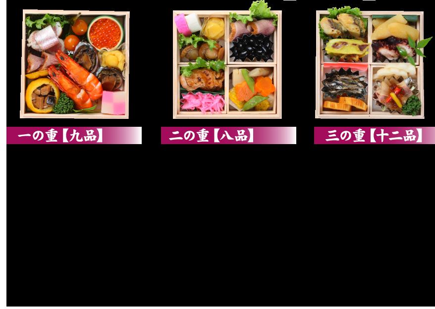 手作り長崎おせちミニ三段重詳細2